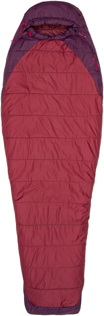 Marmot W's Trestles Elite 20 Sleeping Bag Regular Madder Röd/Dark Purple